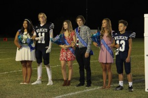 Underclassmen Homecoming Court